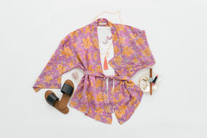 ThisBlueBird Modern Vintage Silk Sari Resortwear, Silk Kimonos, Vintage Clothing and Accessories