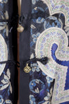 Antique 1870s-1890s Silk Embroidered Chinese Court Jacket Outerwear ThisBlueBird