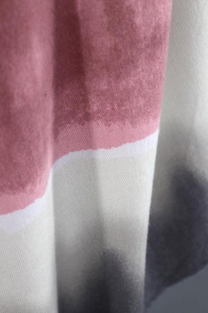 Pashmina Scarf / Pink & Grey Ombre-ThisBlueBird - Modern Vintage
