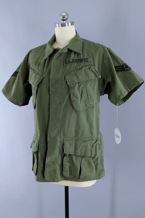 Rare Vintage 1968 US Air Force Jungle Shirt - ThisBlueBird