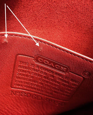 ba5538b22f Red Leather Coach Janice Bag / B06D 9950