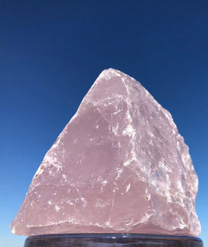 Rough Rose Quartz Rock - ThisBlueBird