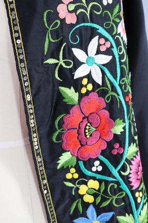 Vintage 1940s Embroidered Cape / Spanish Matador Toreador Capote - ThisBlueBird