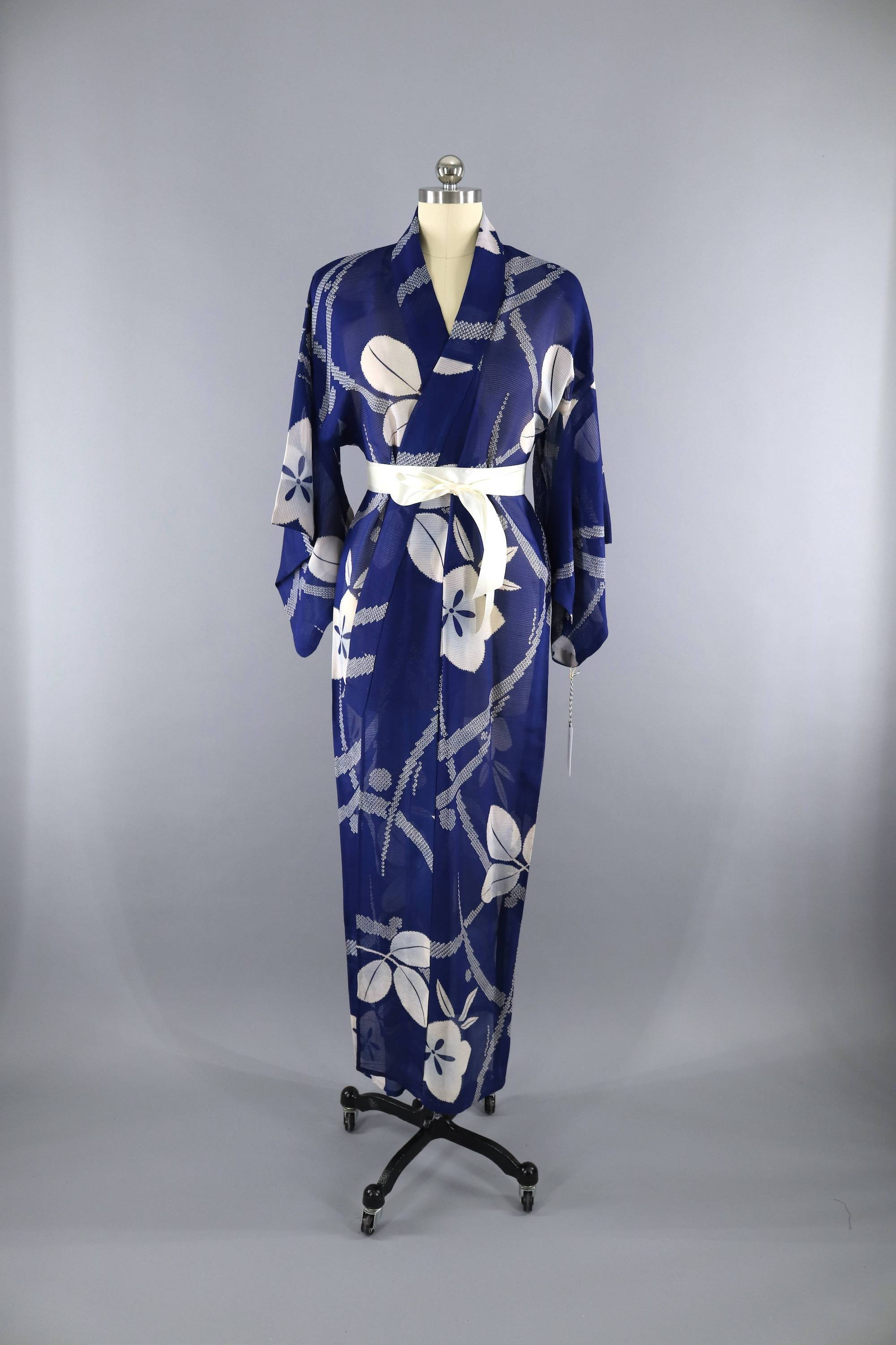 Sheer geisha robe