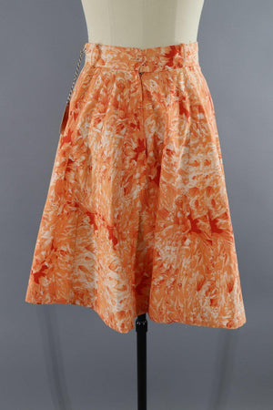 Vintage 1950s Records & Music Novelty Circle Skirt-ThisBlueBird - Modern Vintage