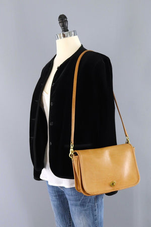 Vintage 1970s Coach City Bag NYC-ThisBlueBird - Modern Vintage