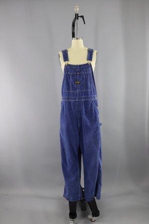 Vintage 1970s Denim Overalls / Painter's Coveralls / Sanforized Bottoms ThisBlueBird