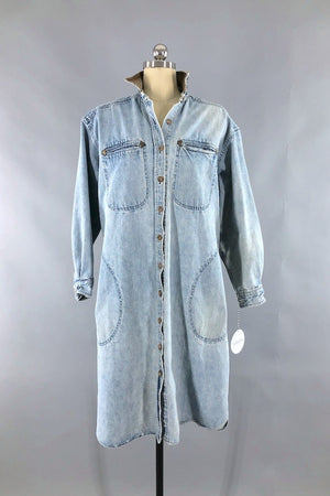 Vintage Banana Republic Denim Dress-ThisBlueBird - Modern Vintage
