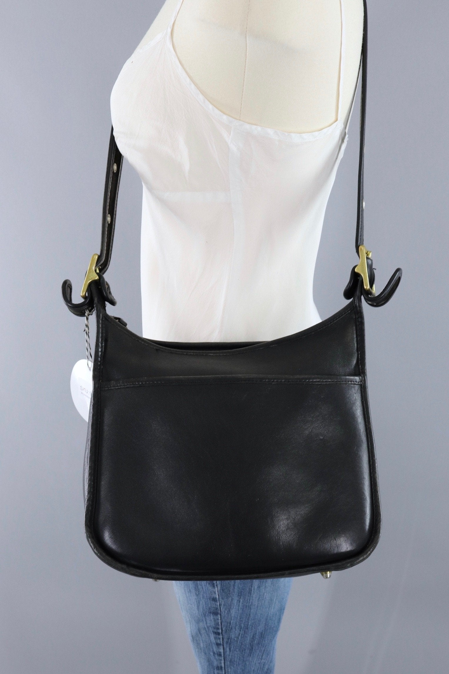 633c21a7c9c A Black Coach Bag