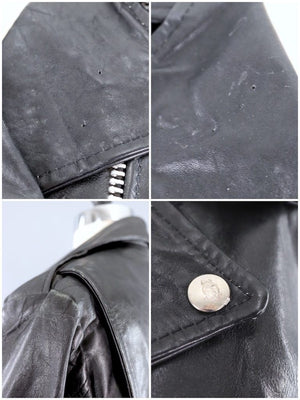 Vintage Leather Motorcycle Jacket-ThisBlueBird - Modern Vintage