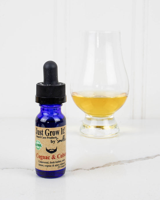 Cognac & Cuban Beard Oil - Smellis Beard Care Products