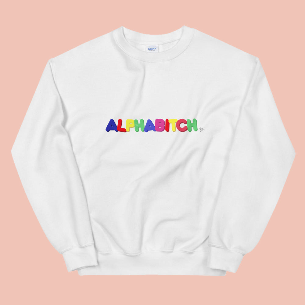 Alphabitch Crewneck Sweatshirt
