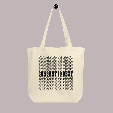 Consent is Sexy Small Tote