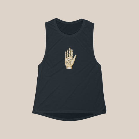 Fate Hand (Antique) Muscle Tee
