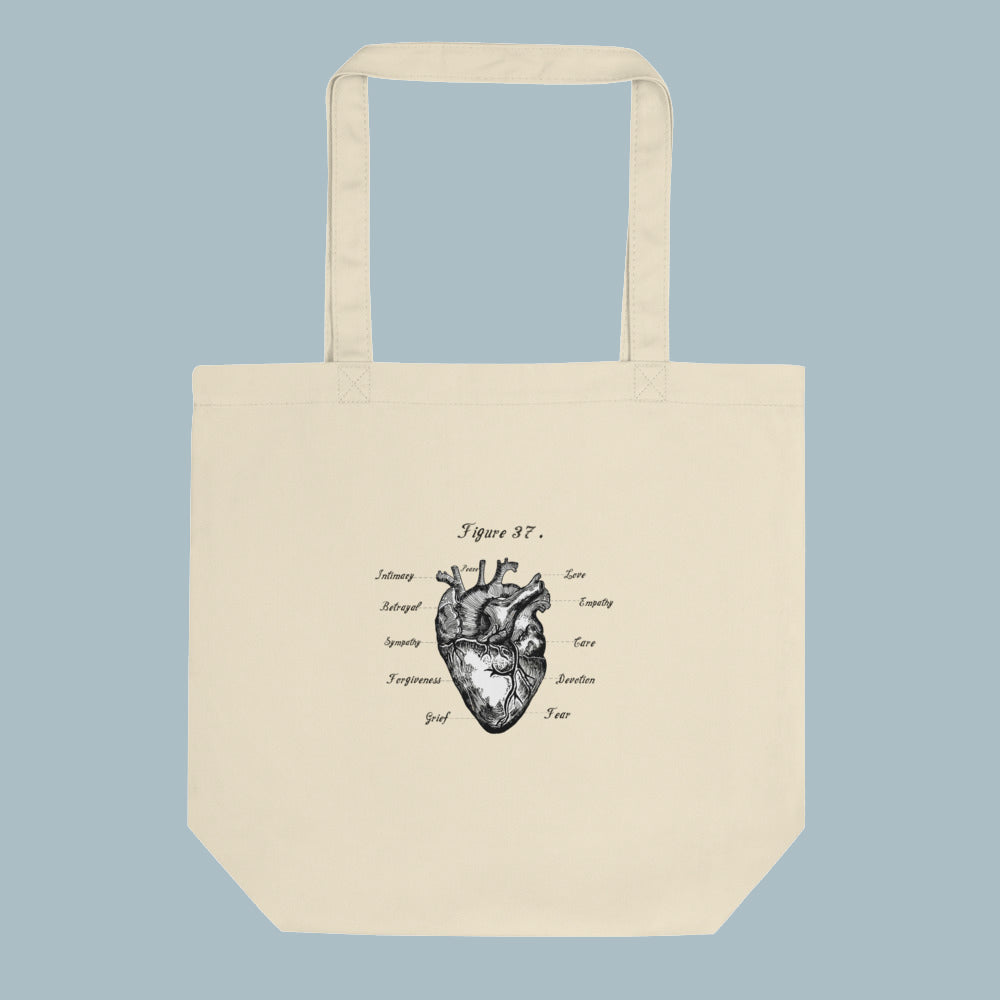 Heart is a Muscle Small Tote