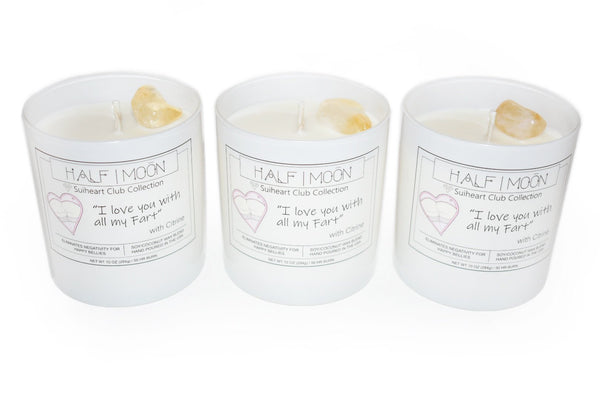 I Love You With All my Fart Candle