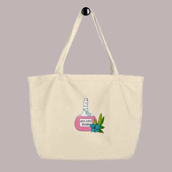 Self Love Potion Large Tote