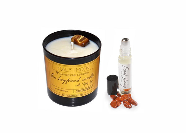 Suiheart Club Sexual Healing Rollerball & Candle Set