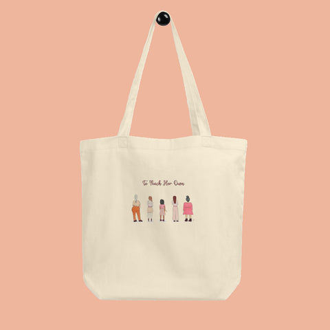 To Peach Her Own Small Tote