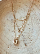 Load image into Gallery viewer, Hidden Lock Layered Necklace