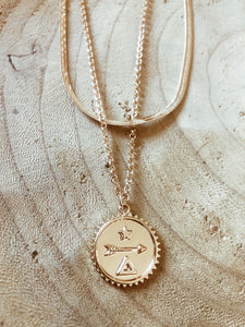 Symbols Layered Necklace