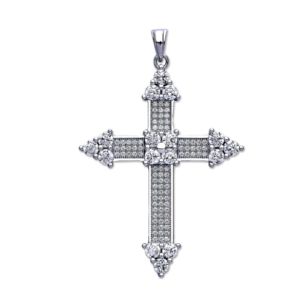 Luxury Crucifix - Sterling Silver