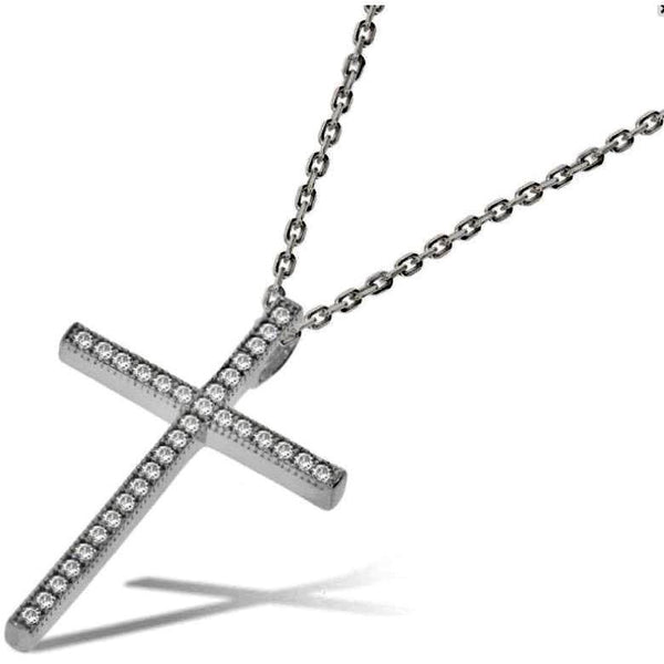 Crucifix & Chain - Sterling Silver