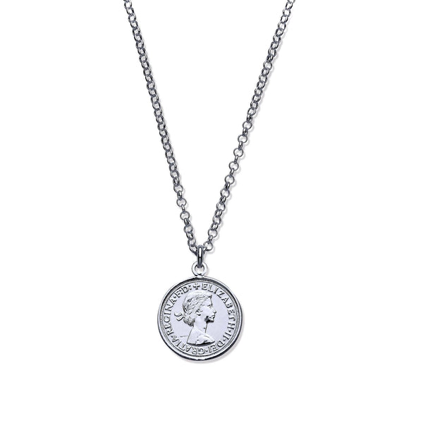 "St George Coin 17"" - Sterling Silver"