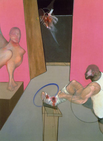 Francis Bacon's Oedipus and the Sphinx After Ingres