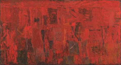 Philip Guston's Red Painting 1950