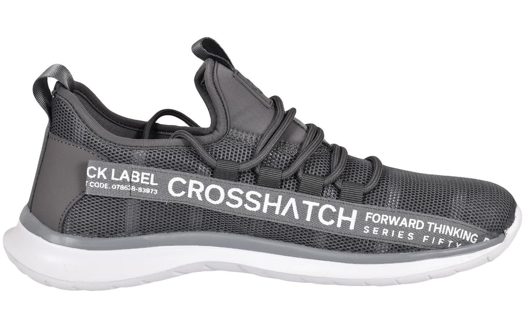 Crosshatch Mens Lace up Trainers DAHLSTORM