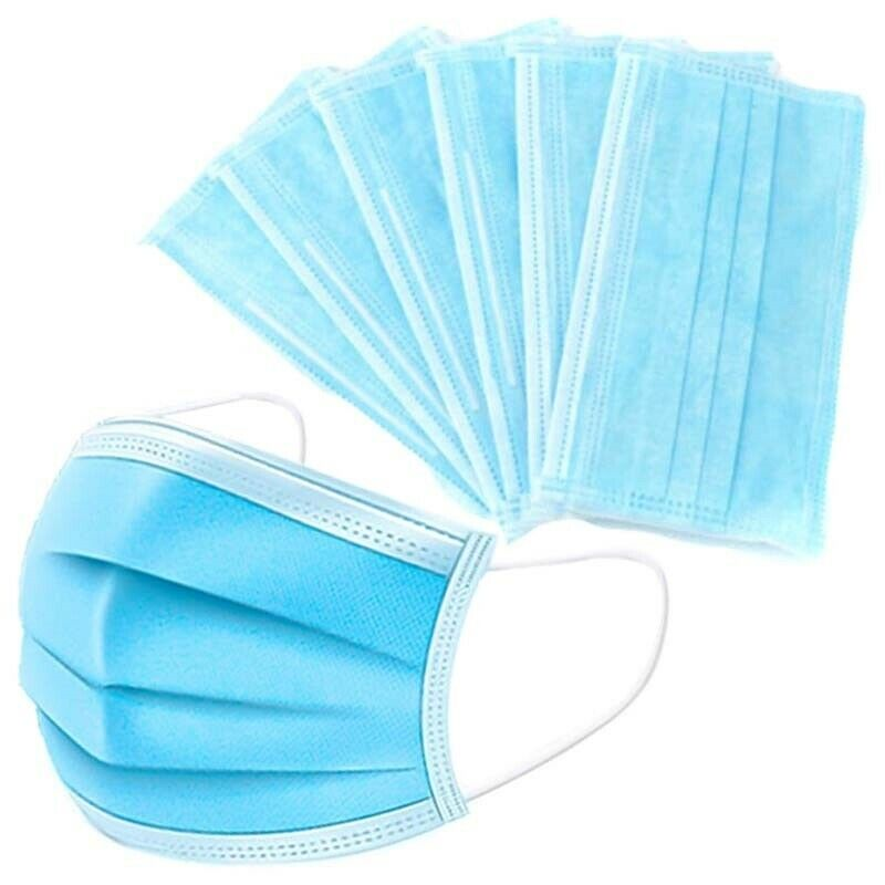 Disposable Face Mask 50, 100, 150, 200 Pack