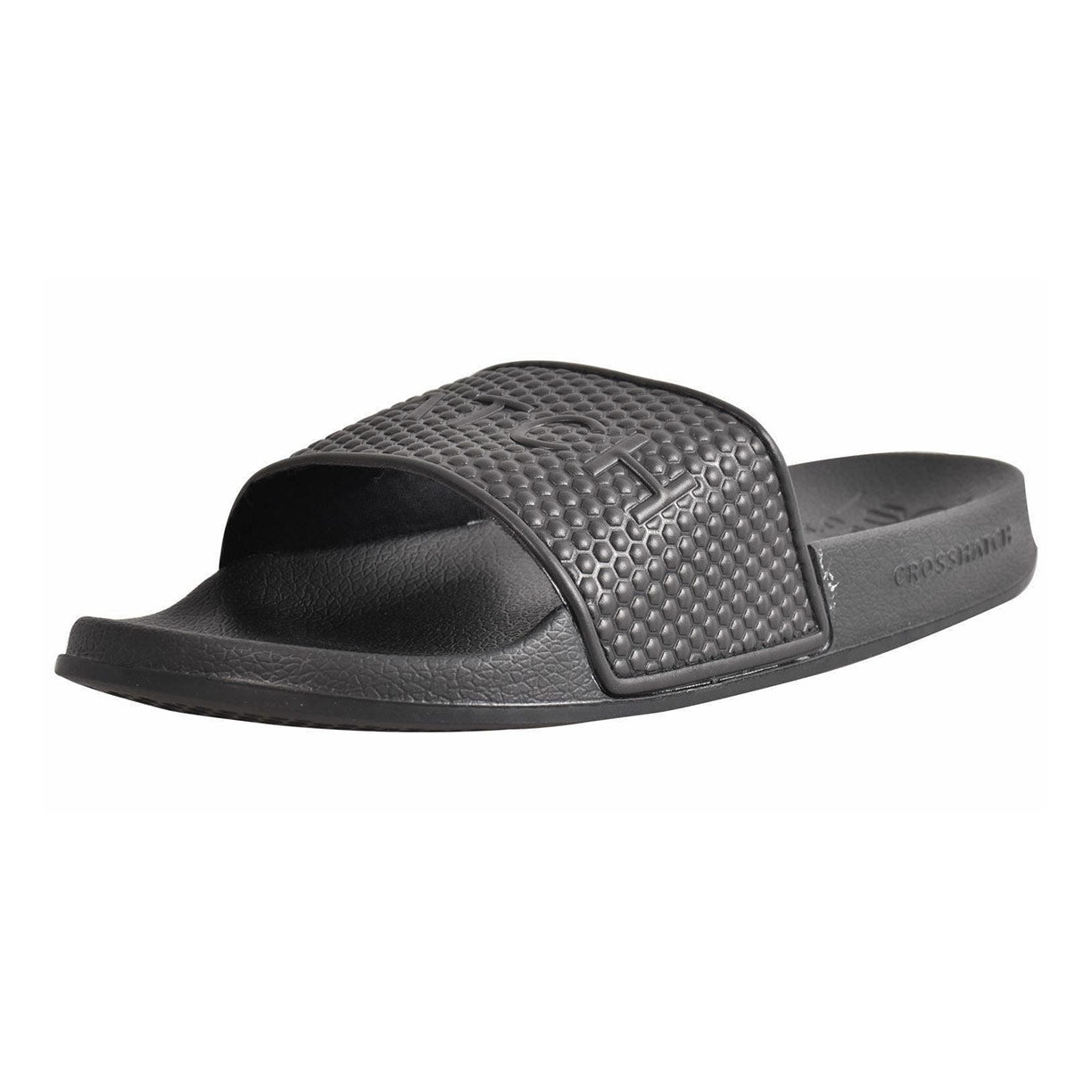 Crosshatch Tulum Sliders Black