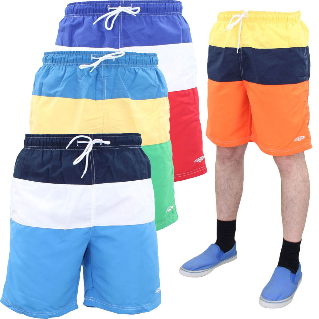 Mens Back Pocket Swim Shorts
