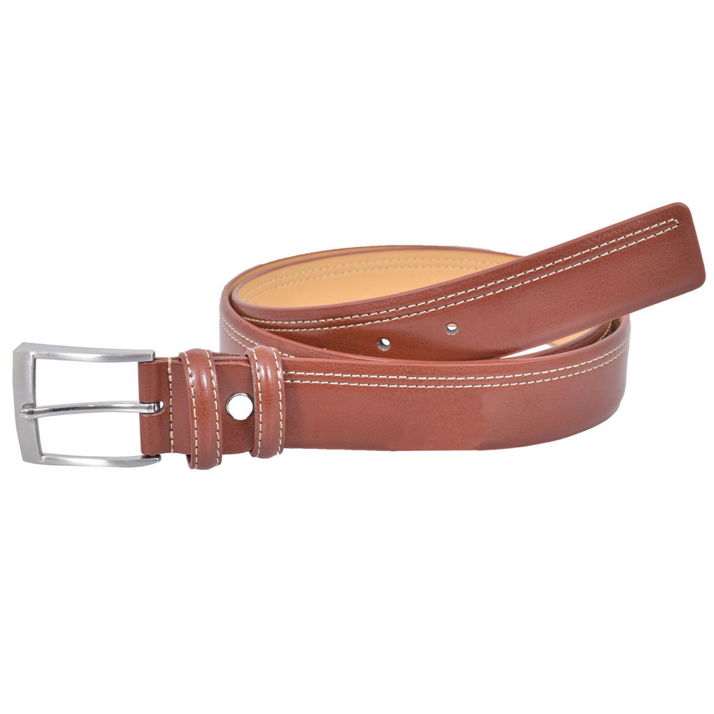 Leather Fashion Belt Brown
