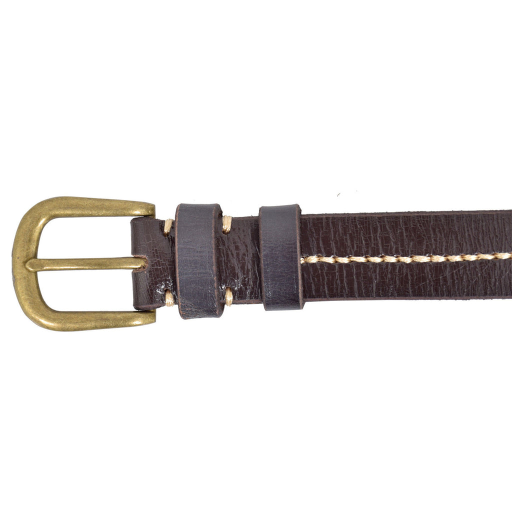 Leather Fashion Belt Black