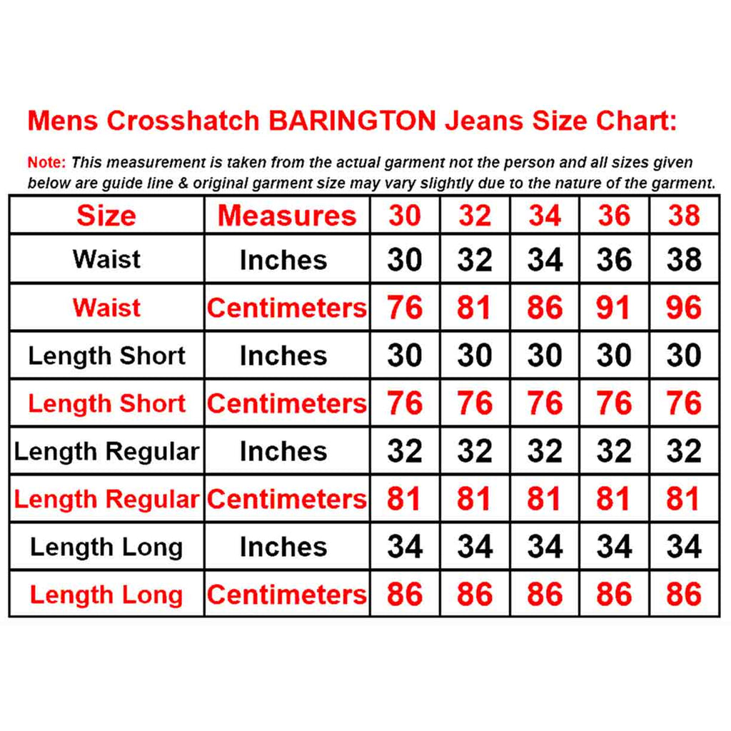 Crosshatch Jeans Barington
