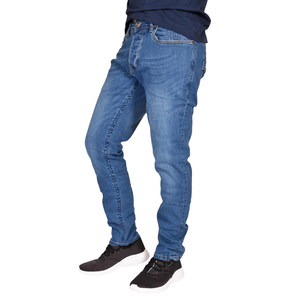 Crosshatch Jeans Balt Mid Wash
