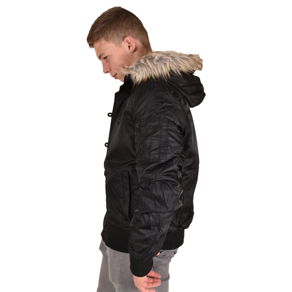 Crosshatch Cackton Jacket Black