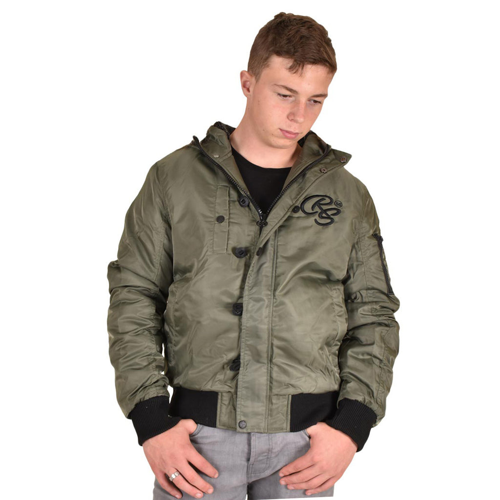 Crosshatch Cackton Jacket Green
