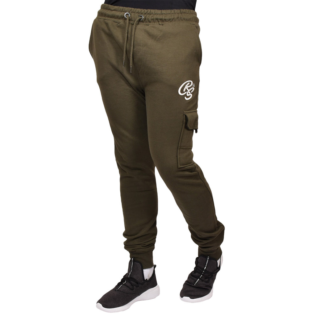 Crosshatch Joggers Lowood Green