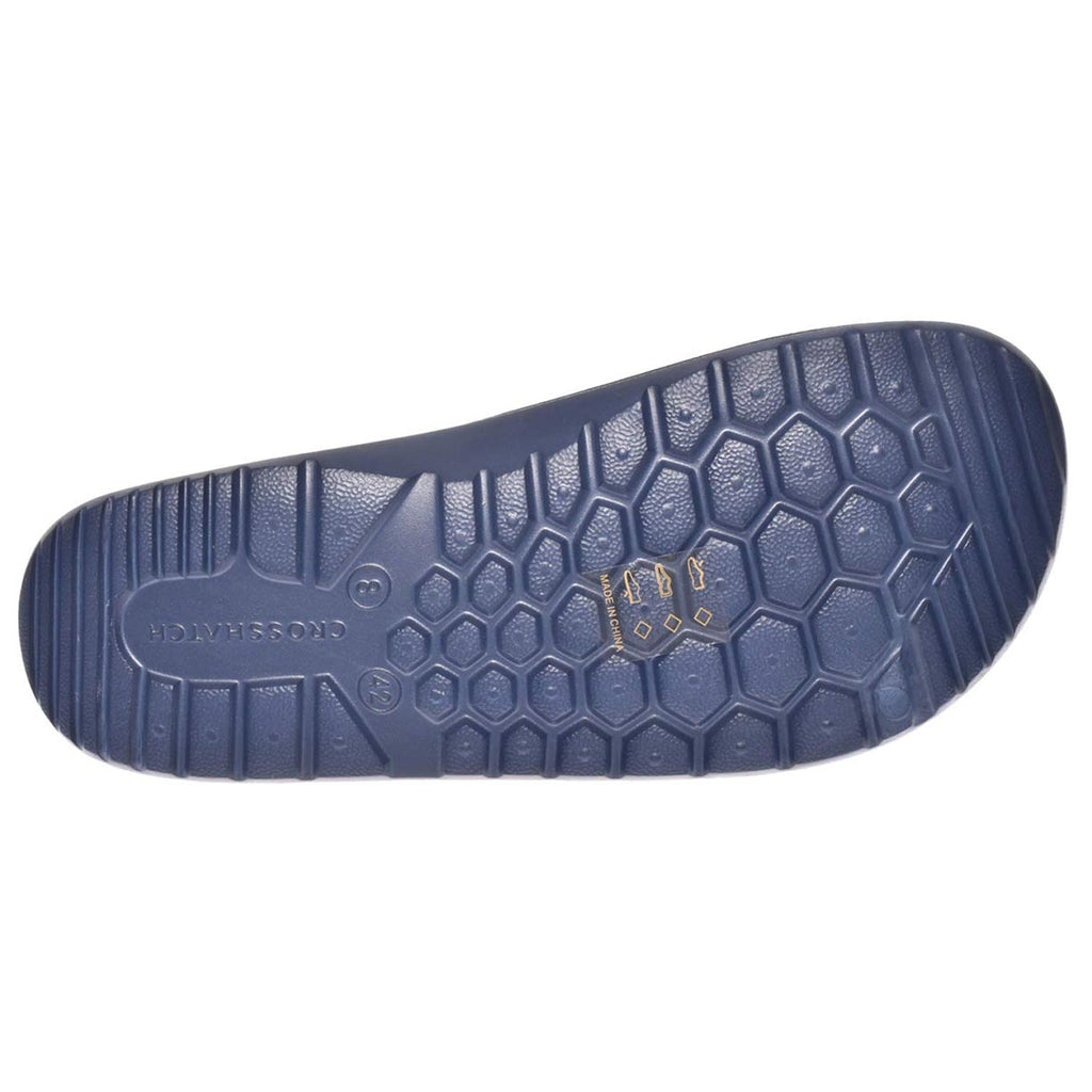 Crosshatch Oreti Sliders Blue