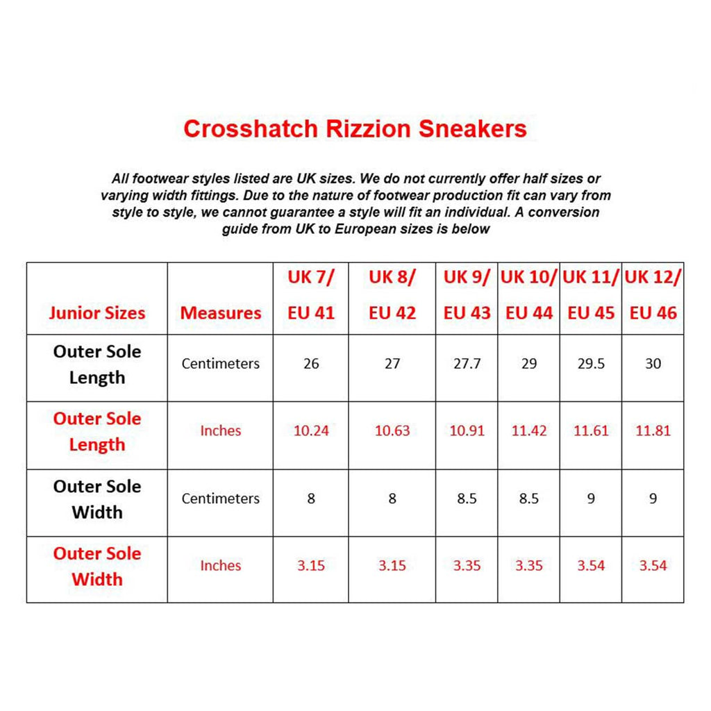 Crosshatch Trainer Rizzion Brown
