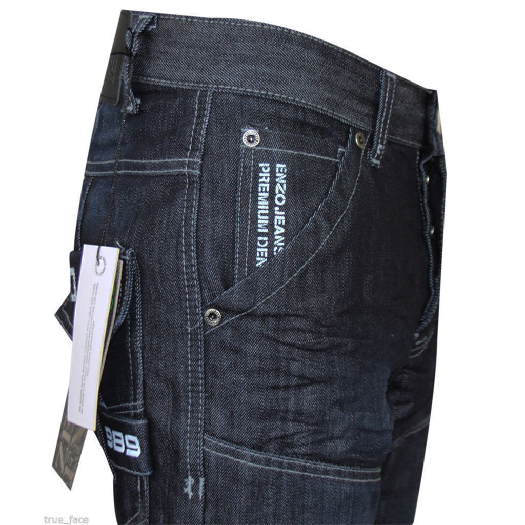 Enzo Jeans EZ244 Dark Wash