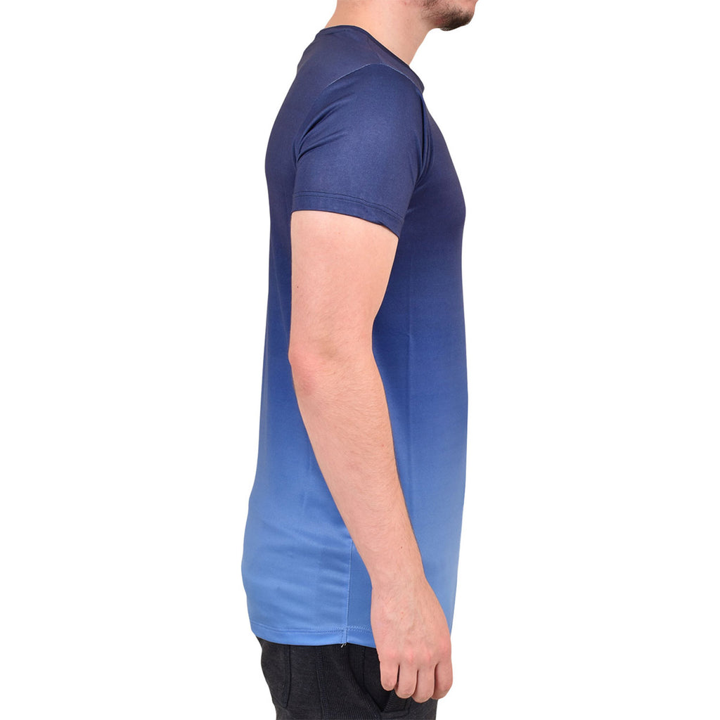 Enzo Relate Short Sleeve T Shirt Blue