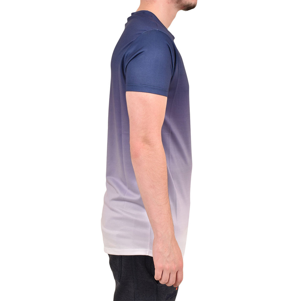 Enzo Relate Short Sleeve T Shirt Navy