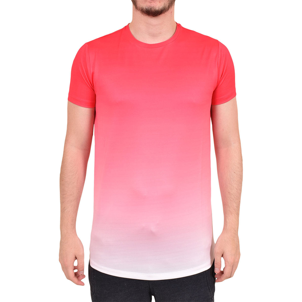 Enzo Relate Short Sleeve T Shirt Pink