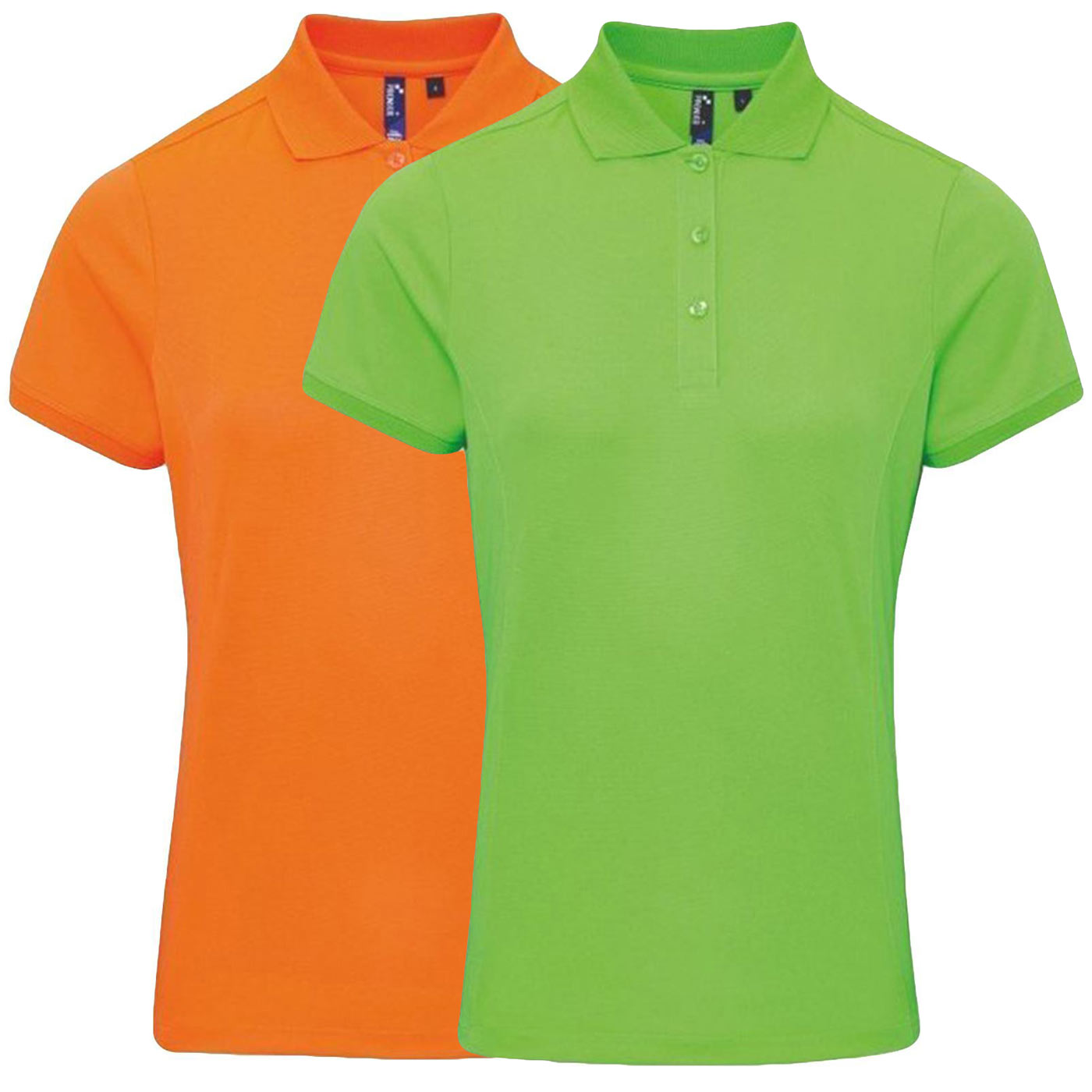 2 Pack Womens Polo Shirt Sports
