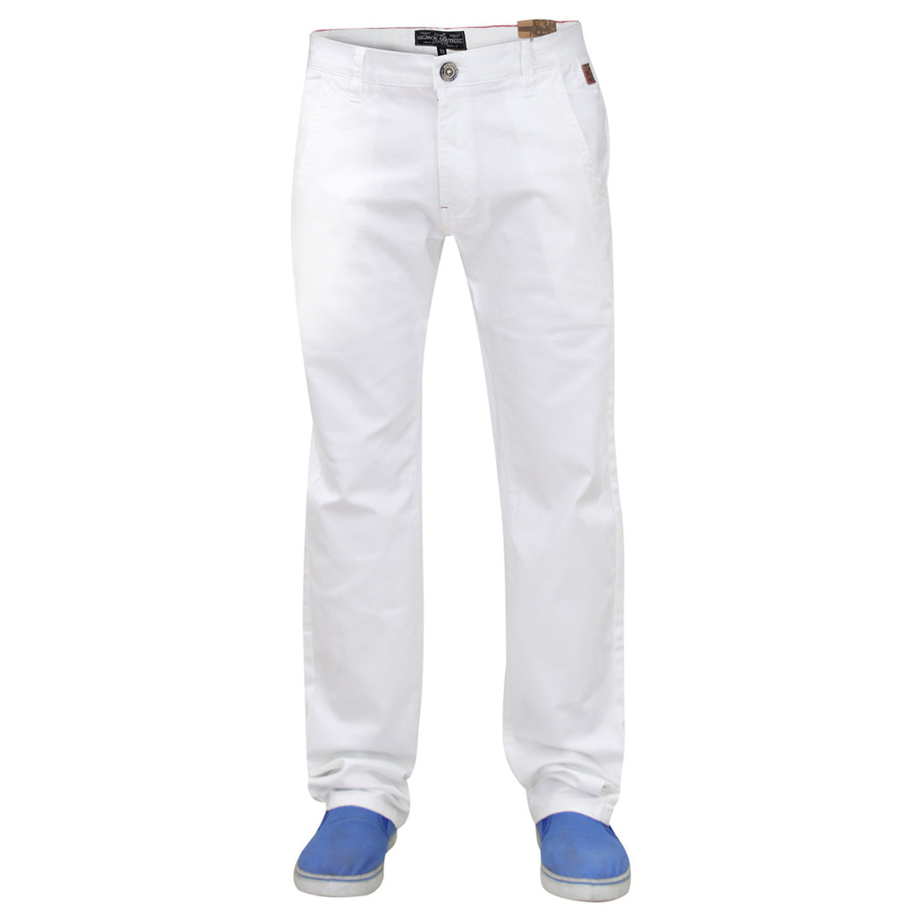 Jack South Jerez Chinos White