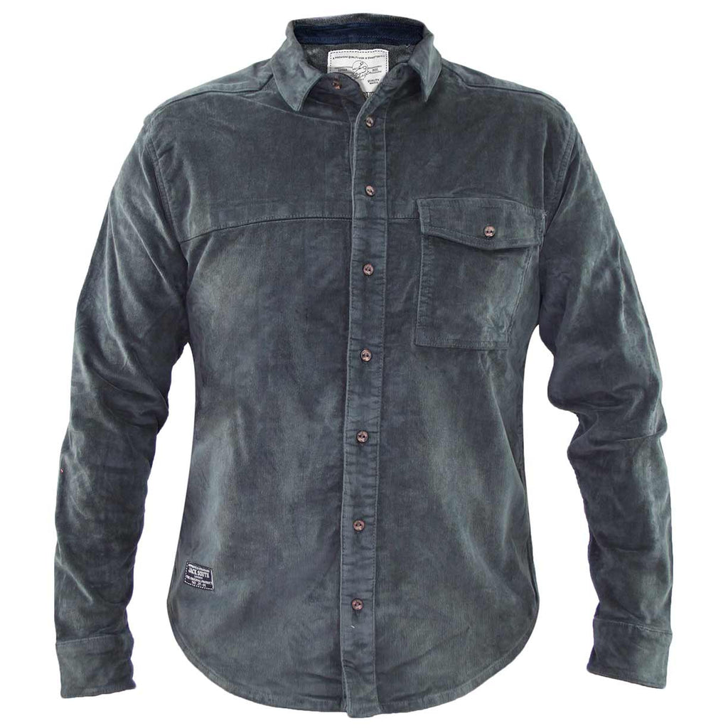 Jack South Men Shirt Alanis Grey